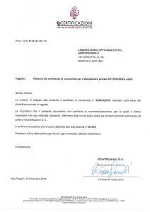 Certificato AIAB