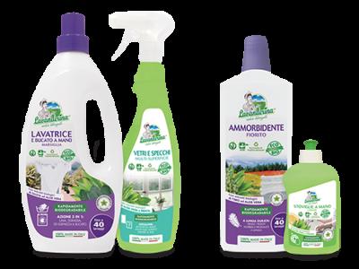 Prodotti eco-bio sostenibili e sicuri per l'ambiente